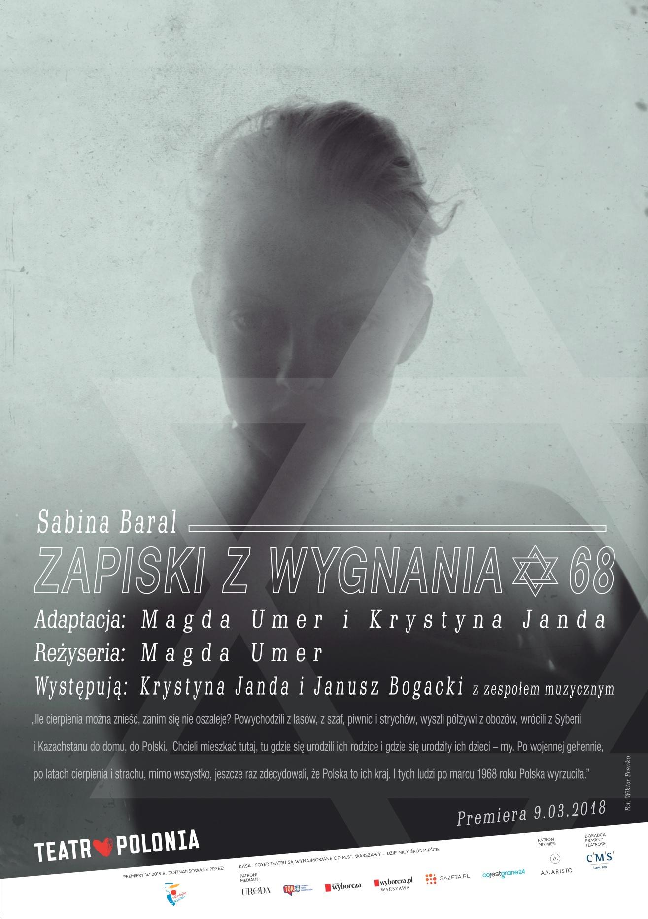 02e770eedb4803 ZAPISKI Z WYGNANIA - Krystyna Janda